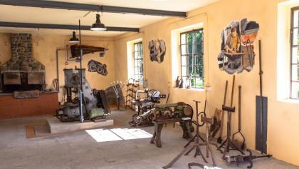 Schauschmiedewerkstatt in Rammenau