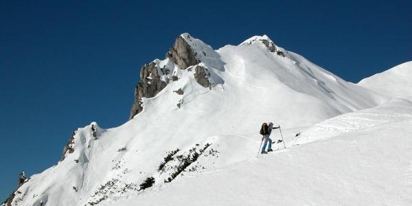 Aufstieg zum Kreuzmauer Gipfel