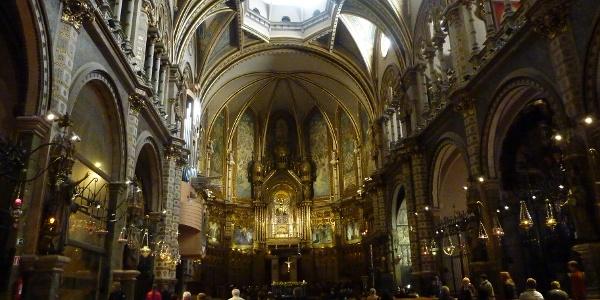 In der Klosterkirche Montserrat