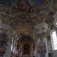 der Innenraum der Wieskirche