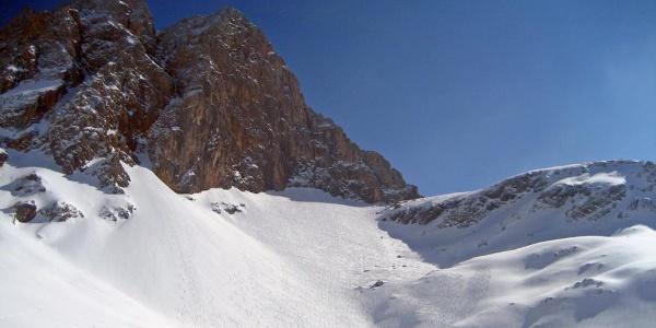 Die Hochwies   Skitour Hundstodreibn