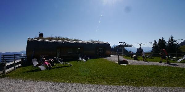 Das Panoramarestaurant Hahnenkamm