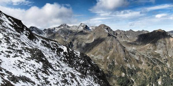 Von der Trockenbrotscharte (2.237 m) (03.10.2015)