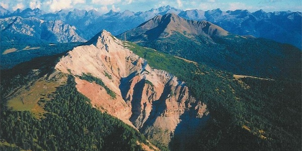 The canyon Bletterbach