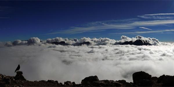 Auf dem Gipfel des Peitlerkofels