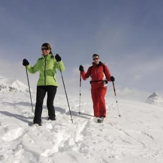 winter hiking San Candido Innichen
