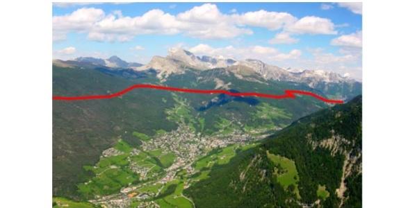 Der Weg galt als Verbindungstrasse vom Eisacktal bis nach Venedig