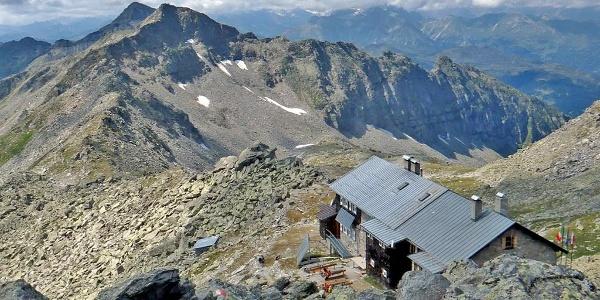 Europahütte mountain hut Pfitsch Sterzing