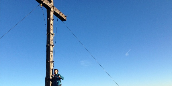 Summit cross monte Luco
