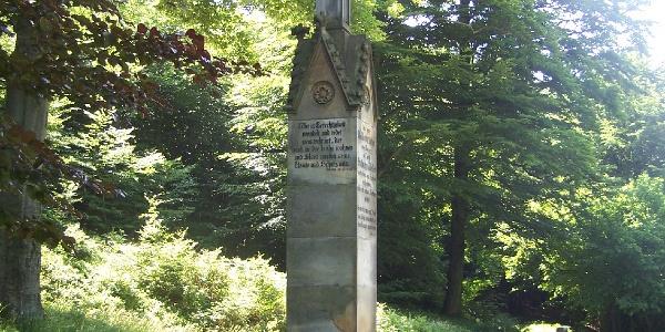 Lutherstein bei Steinbach
