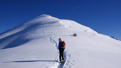 On the ski tour to Krahbergzinken