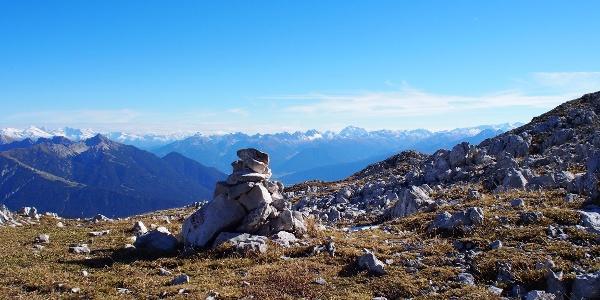 Söllerpass - Blick zum Alpenhauptkamm