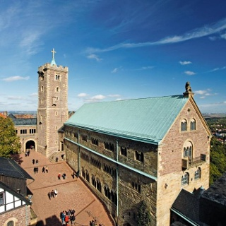Wartburg Eisenach Palas