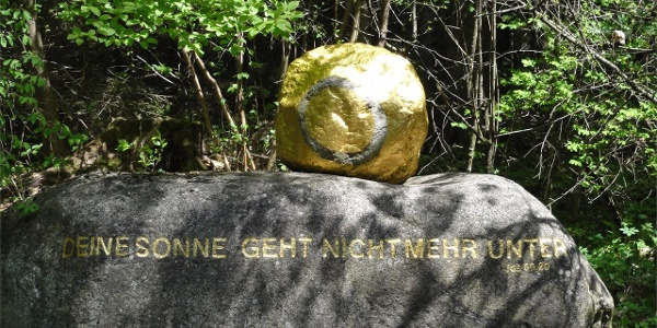 Besinnungsweg zum Heiligen Franziskus Franziskusweg Reinbach-Wasserfälle