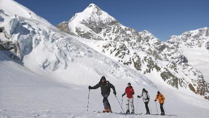 Skitour in der Ferienregion Reschenpass
