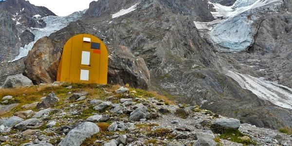 Günther Messner bivouac
