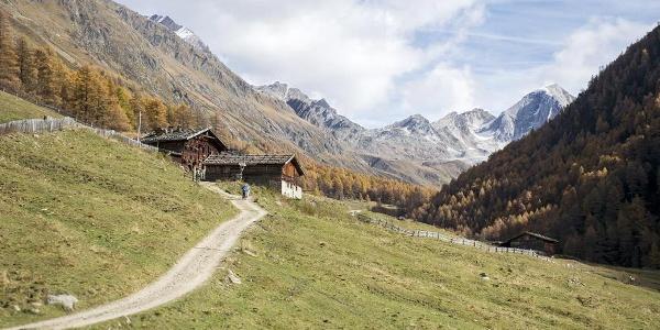 Pfossental Valley