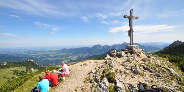 Der Jägerkamp - ein herrlicher Aussichtspunkt über dem Schliersee