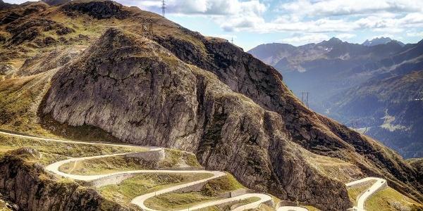 Tremola Road, Gotthardpass
