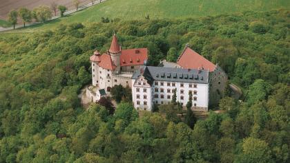 Luftaufnahme - Veste Heldburg