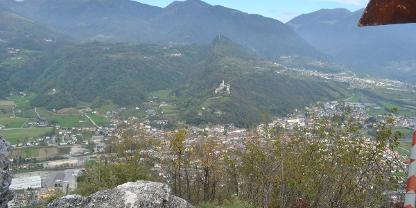 Borgo Valsugana e Castel Telvana