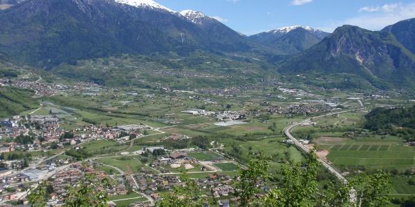 Panorama sulla Valsugana
