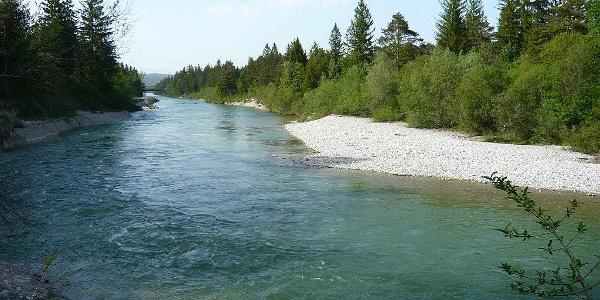 Isar bei Wolfratshausen