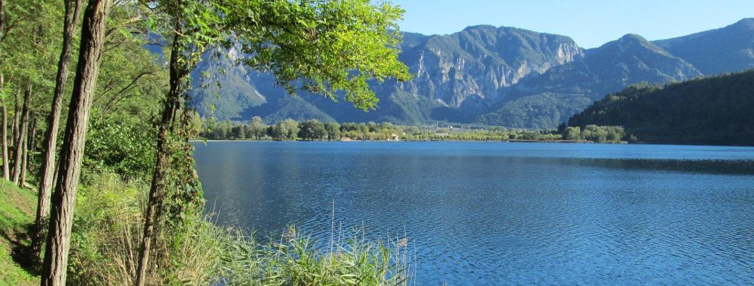 Visuale lago di Levico