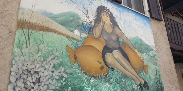Balbido il paese dipinto dei Murales