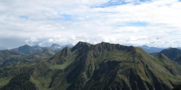 Kleiner Trieb, 2096 m  und Hoher Trieb 2199 m