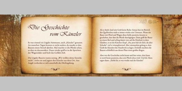 """Bankrücken """"Die Geschichte vom Känzler"""""""