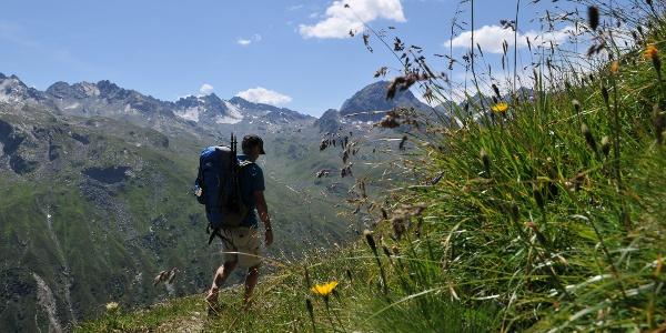 Abstieg zur Bielerhöhe