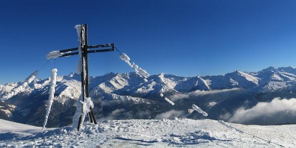 Herrlicher Ausblick von Gipfel