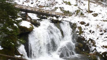 Triberger Wasserfall im Winter