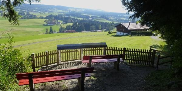 Bänkle Panoramatafel