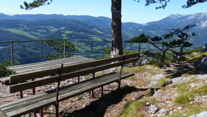 Jubiläumsaussicht bei der Waldburgangerhütte