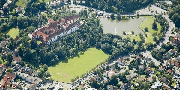 Luftbild Schloss Bad Iburg