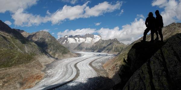 Le grand glacier d'Aletsch