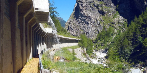 The Gondo Gorge & military fortress