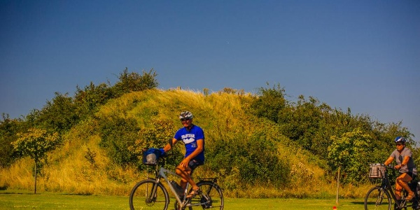 Das flache Halbinsel Wittow im Norden Rügens ist ideal für ausgedehnte Radtouren
