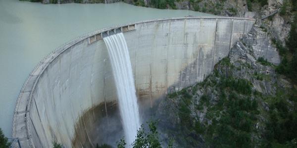 Le barrage Gibidum