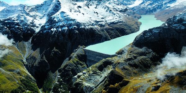 The Grande Dixence dam
