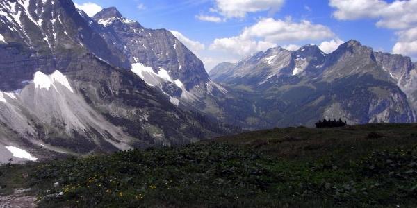 Kurz vor dem Karwendelhaus (27.06.2010)