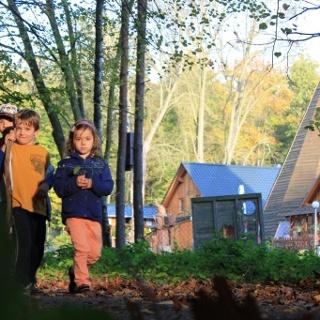 Wanderweg am Forsthof Waidmannsheil