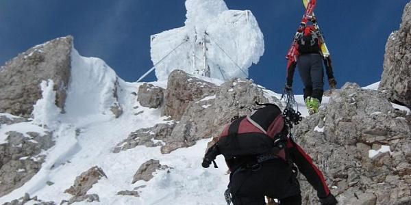 finaler Gipfelfels
