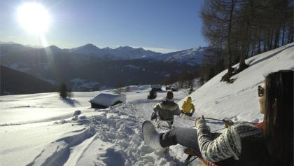 Reinswalder Wiesn family toboggan run, Reinswald, San Martino, Val Sarentino/Sarntal Valley