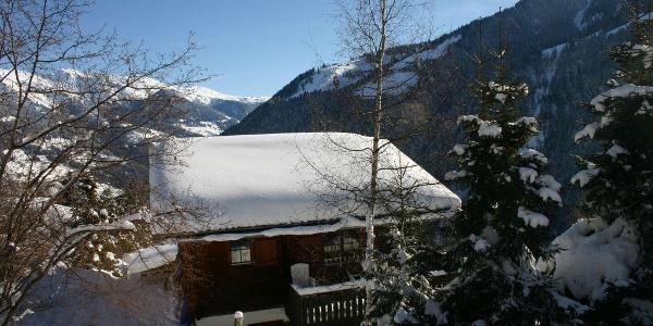 Freude am Berg Winter