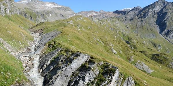 Die Überquerung des Wurfbachgrabens ist die Schlüsselstelle der zweiten Etappe.