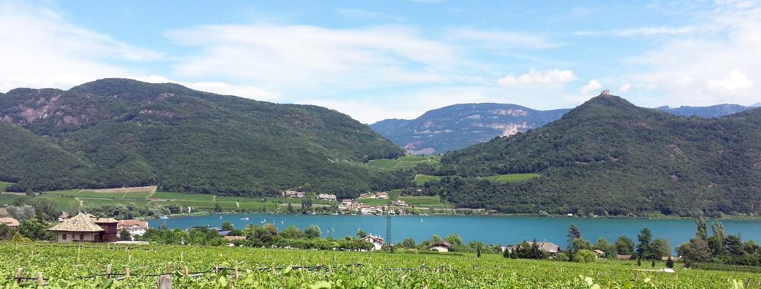 View of the Kalterer lake