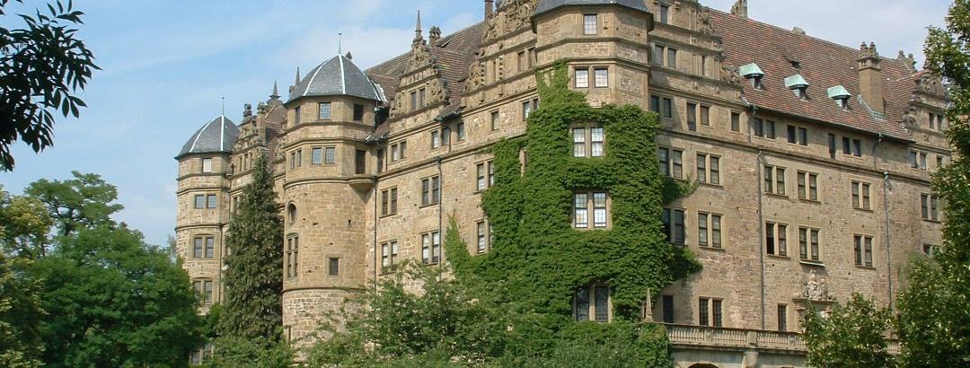 Das Schloss Neuenstein, eines der schönsten Schlösser von Hohenlohe
